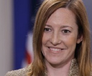 Jean Psaki, portavoz del Departamento de Estado Norteamericano