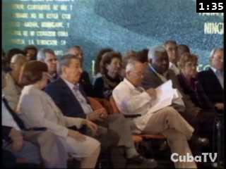Asiste Raúl a celebraciones por aniversario de encuentro de Fidel con líderes religiosos